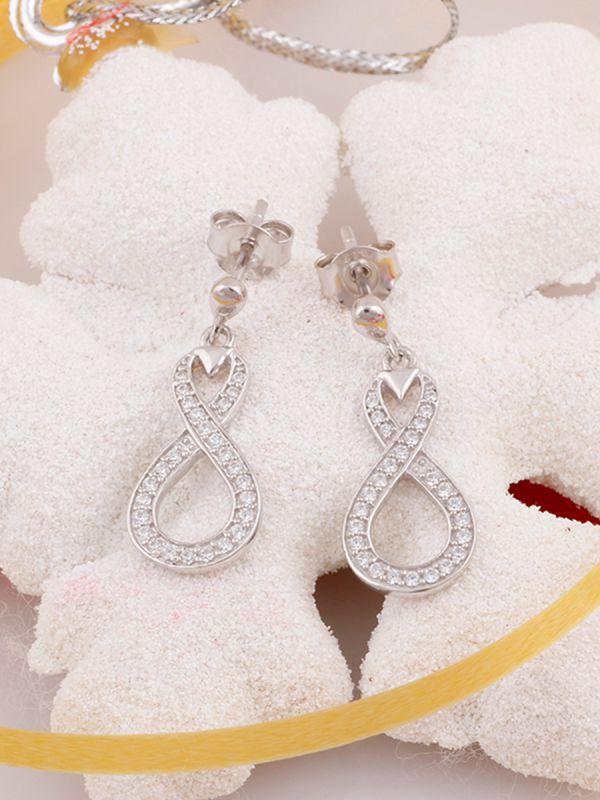 13.20ctw Genuine Gemstone & 925 Silver Plated Dangle